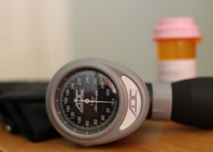 blood pressure monitor and medications
