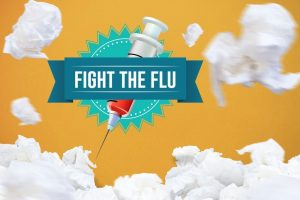 It's October, which means it's that time of the year again: flu vaccination  time!