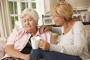 getting aging mother to accept help